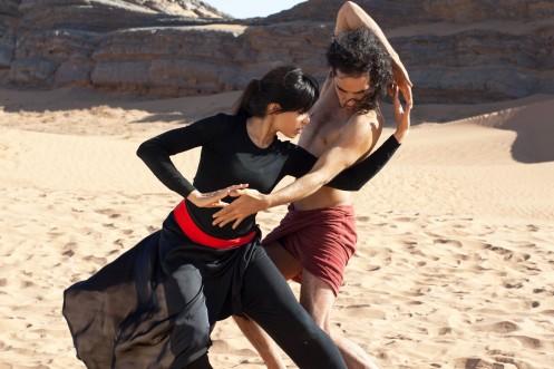 DESERT DANCER - 2015 FILM STILL - Frieda Pinto and Reece Ritchie - Relativity Media © 2014 Desert Dancer Production LTD. All Rights Reserved