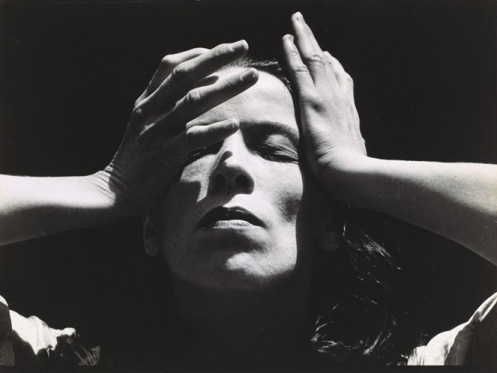 Portrait of Martha Graham . Photo: Imogen Cunningham