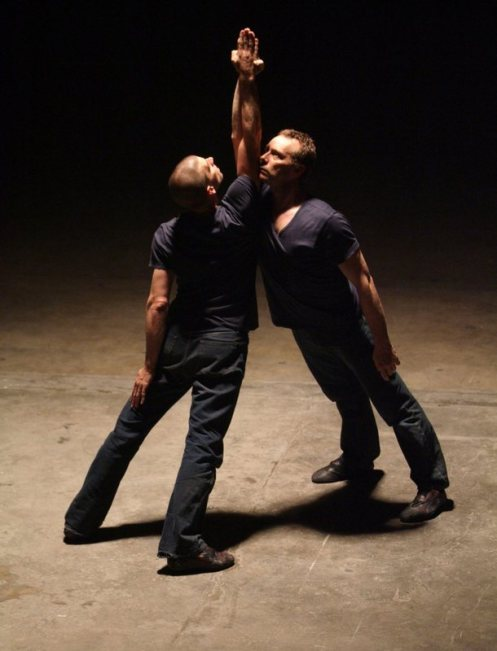 "Billy Trevitt & Micheal Nunn in Russell Maliphant's ""Torsion"" from 2012,"