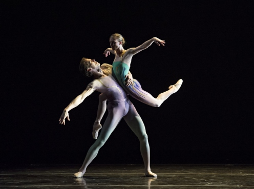 Margo Sappington's Jennie Somoygi & Charles Askegard. Photo: (c) Gene Schiavone