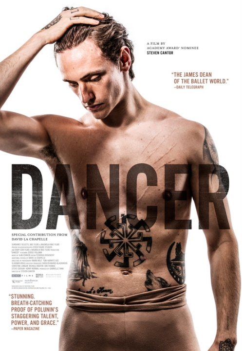 Dancer_White Poster